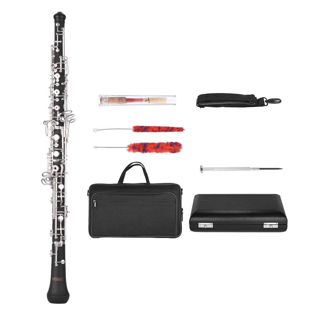 Ammoon Oboe C Key Profesional Estilo Semiautomático