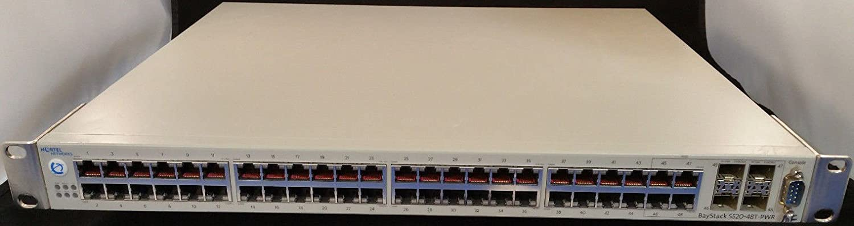Nortel 5520 48T AL1001A05 PWR 48 Port Gigabit Switch PoE Amazonca Electronics