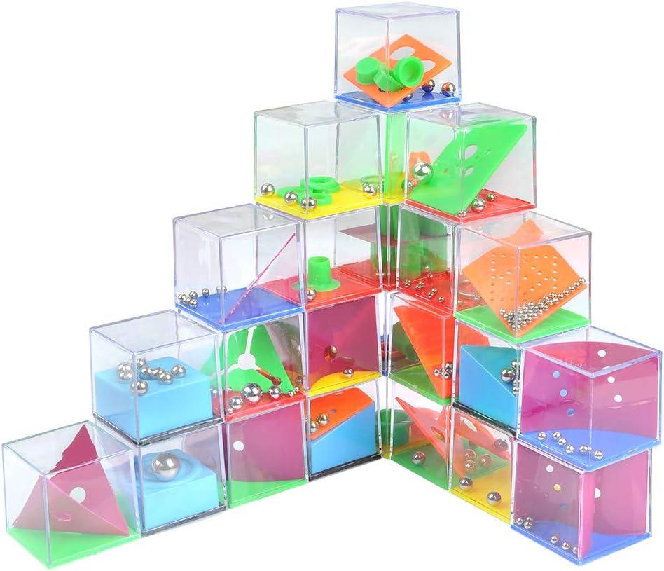 YOTINO 24 Juegos de Habilidad Mini Juegos Rompecabezas Juego de Ingenio Paciencia con Niveles Diferentes Regalos de Fiesta para Niños, Adultos