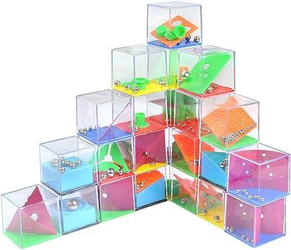 YOTINO 24 Juegos de Habilidad Mini Juegos Rompecabezas Juego de Ingenio Paciencia con Niveles Diferentes Regalos de Fiesta para Niños, Adultos: Amazon.es: Juguetes y juegos