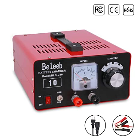 Amazon.com: Beleeb cargadores de batería 5A 10A 20A 30A ...