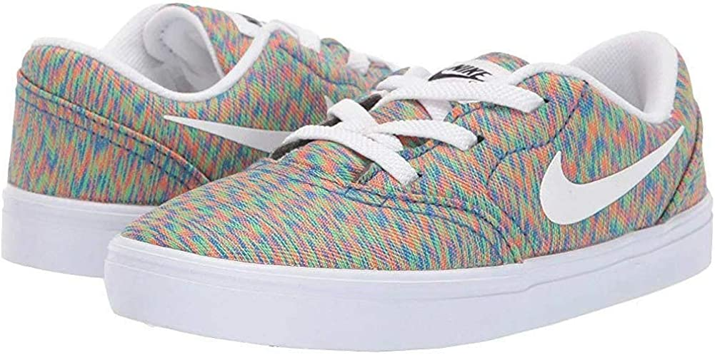 Nike Boys SB Check Canvas Skateboarding Shoes PS