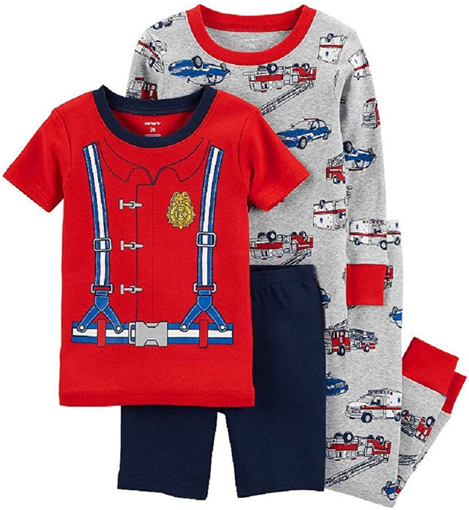Carters 4-pc Pant Pajama Set Boys 24 Months