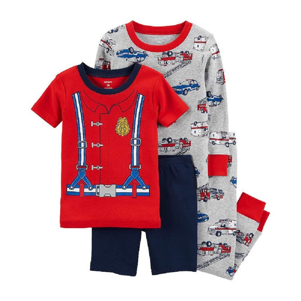 12 Months Carters 4-pc Pant Pajama Set Boys