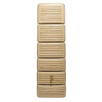 Wandtank 300l Lightwood Slim Stone Decor Amazon De Kuche Haushalt