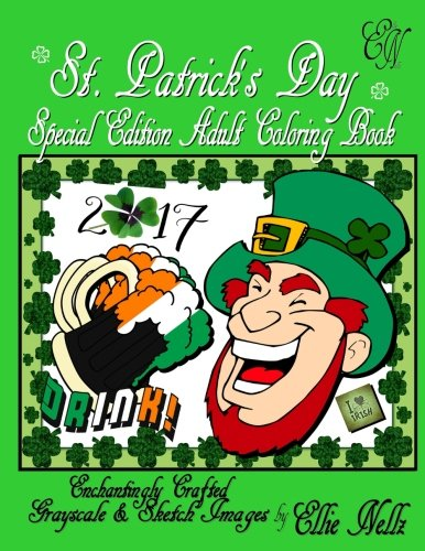 St. Patrick's Day Special Editon Adult Coloring Book