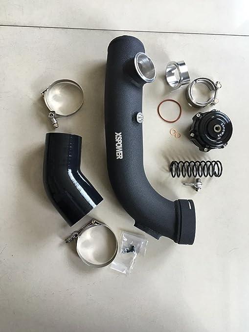 Turbo de admisión de aire Kit de carga duro de tubo 50 mm BOV BMW N54