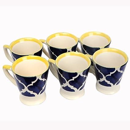 Buy tea cups set of six tea cup set of 6 Online at Low