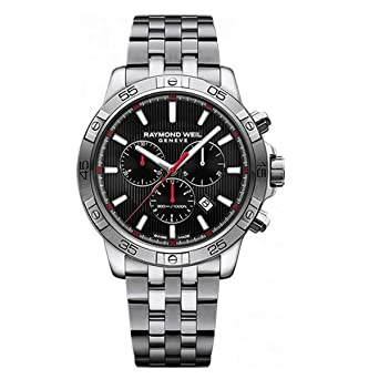 5f8e5b551 Image Unavailable. Image not available for. Color: Raymond Weil Men's Tango  Quartz Diving Watch ...