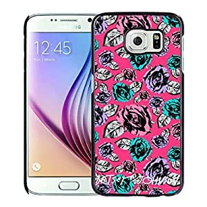 Betsey Johnson(2) Black Samsung Galaxy S6 Screen Cover Case Genuine Design High Quality