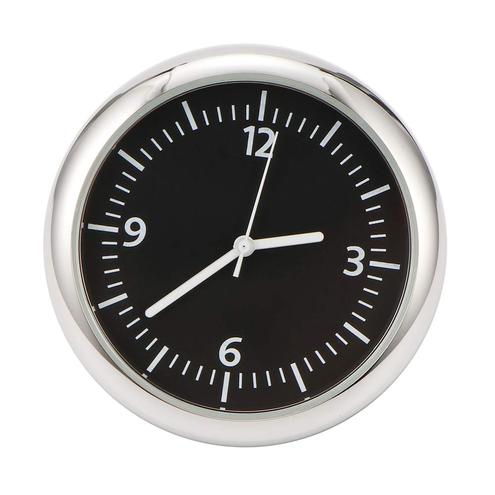 Car Dashboard Clock Stick On Quartz Clock
