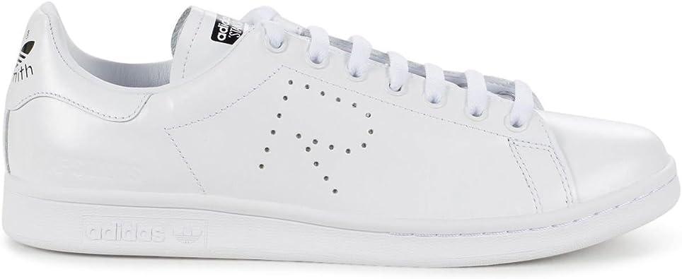 Anotar Tigre crítico  Adidas Men's RAF Simons Stan Smith White/Black BA7378 (Size: 9.5): Amazon.ca:  Shoes & Handbags