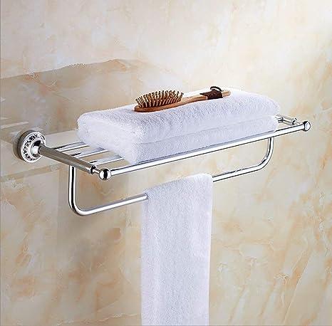 Toda la barra de toalla del estante de la toalla de la base redonda del estante