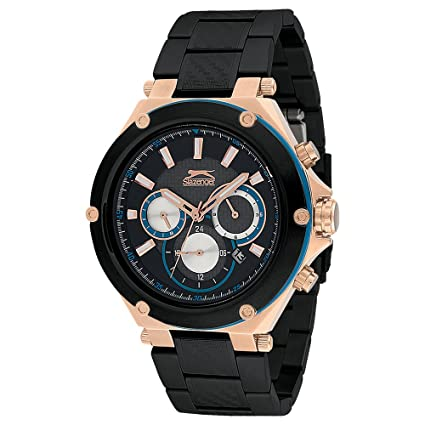 SLAZENGER Mens Round Dial Chronograph Watch-SL91260203