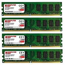 Komputerbay 8Go (4 x 2 Go) DDR2 DIMM (240 PIN) AM2 800Mhz PC2 6400 / PC2 6300 pour Gigabyte GA-MA770-DS3 8 Go