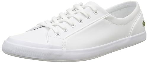 Lacoste Sport Lacoste Lancelle Bl 1 Spw0135001, Zapatillas para Mujer, Blanco (White,