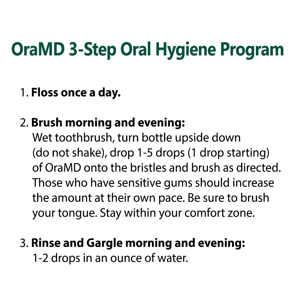 OraMD Original – Gingivitis, Bleeding Gums – Superior Toothpaste and Mouthwash Alternative – 100% Pure Essential Oils – Dentist Recommended for Over 15 Years by OraMD (Image #7)
