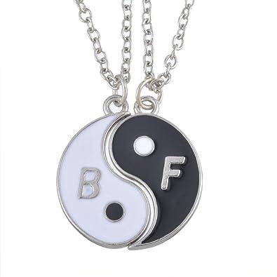 Buy Hexawata Best Friend Split Taoism Round Yin Yang Pendant