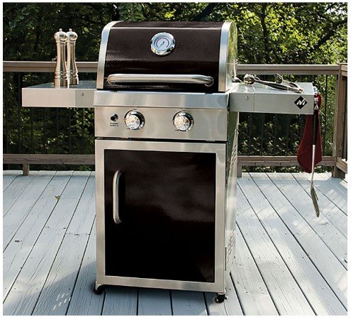 Member's Mark Two-Burner Gas Grill, Red (Black) (Mark Grills Members)