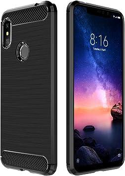 Simpeak Funda Compatible con Xiaomi Redmi Note 6 Pro (6.26 ...