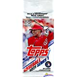2021 Topps Series 1 MLB Baseball EXCLUSIVE HUGE Factory Sealed Retail JUMBO FAT PACK with 40 Cards! Loaded with Rookies & Coo