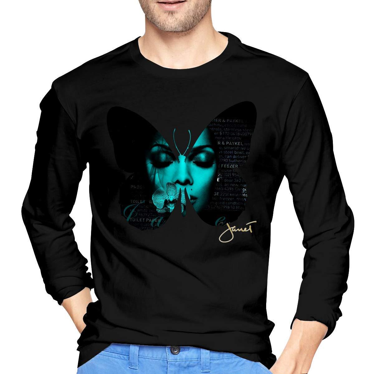 Fssatung S Janet Jackson T Shirts Black