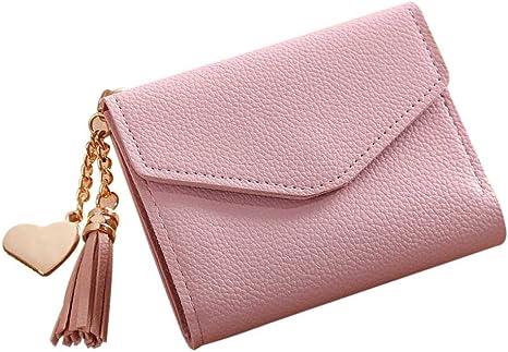 Frauen Damen Geldbeutel Mappen Karten Halter Handy Pocket Handtasch TascheD