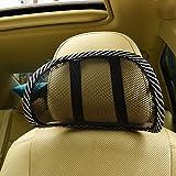 ninja turtle console - AMAZZANG-Mesh Junction Produce Net Car Headrest Pillow Neck Rest Cushion Headrest Pillow