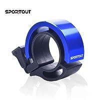 Sportout Mini Aluminiumlegierung Innovative Fahrradklingel Fahrrad Ring mit Lauten Klaren Klaren Kla