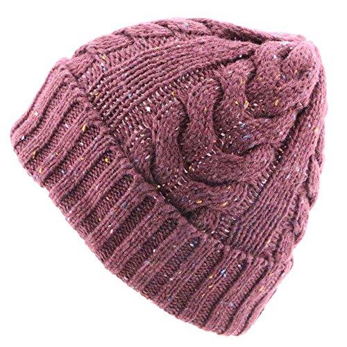 Knit Sombrero MS del Maozi 4 2 del Invierno Casquillo del fI6dd7w