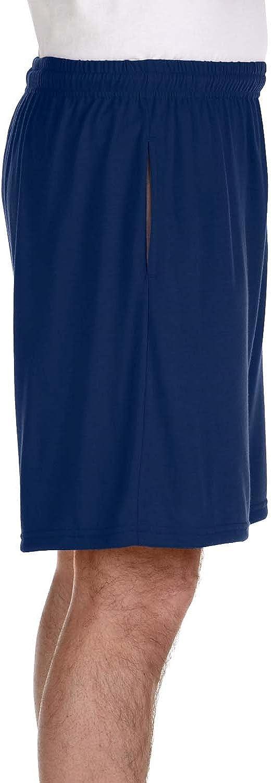 Gildan 44S30 Unisex Adult Performance 5.5 oz Nine Inch Short with Pockets
