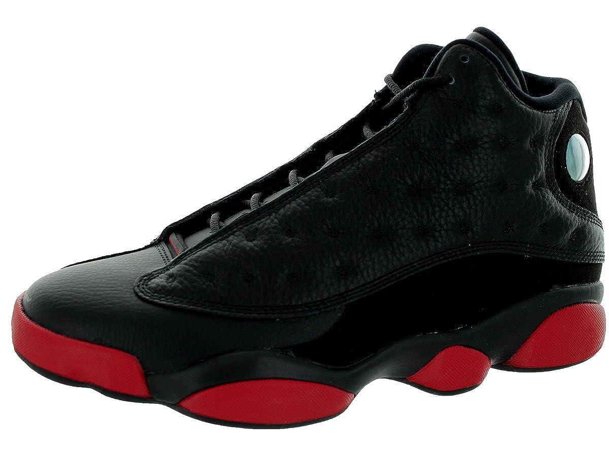NIKE Herren Air Jordan 13 Retro Turnschuhe, schwarz Schwarz (Schwarz / Rot / Schwarz (Schwarz Schwarz / Gym Rot-schwarz) 2095b7