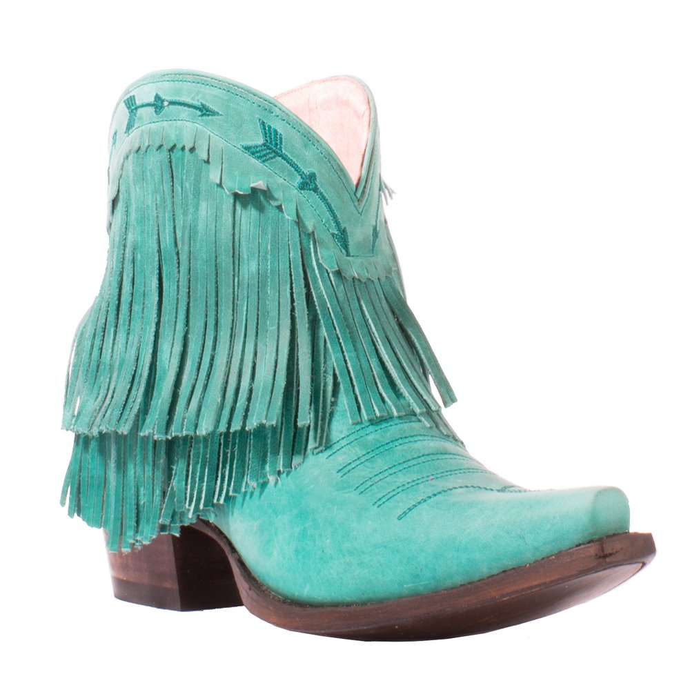 Lane Women's Junk Gypsy by Turquoise Spitfire Boot Snip Toe - Jg0007d B01G5GB880 6.5 B(M) US|Turquoise