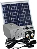 Solar Charger 4 Bulbs & Chargers