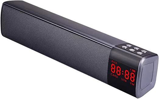 szdc88 Altavoz Inalámbrico, Estéreo Subwoofer Audio Bluetooth ...
