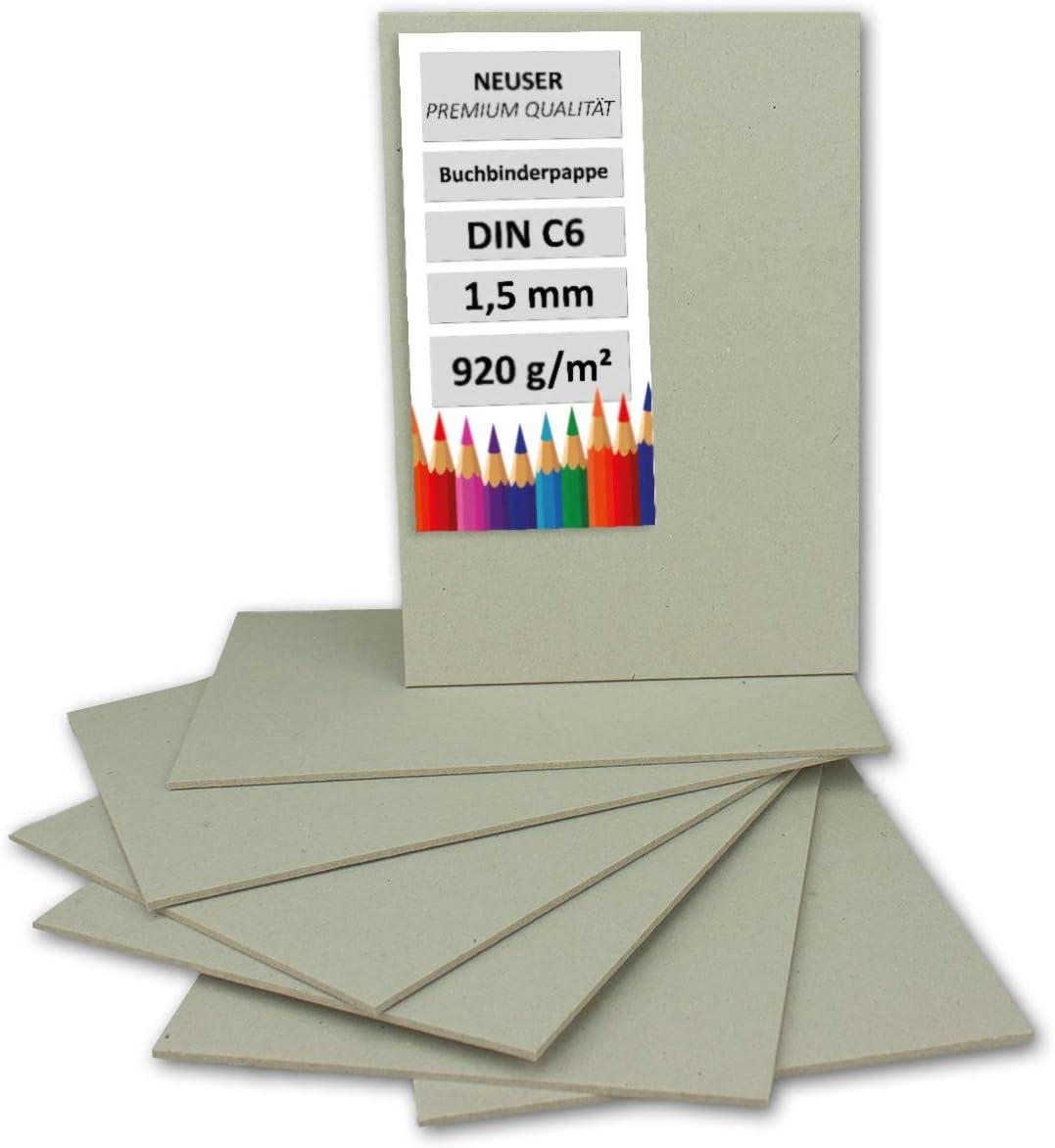 1,5 mm in cartone molto resistente 10 pezzi DIN A3 Grau-Braun 1,5 mm Cartoncino per rilegatura