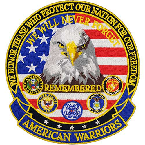 (American Warriors 5 inches Patch)