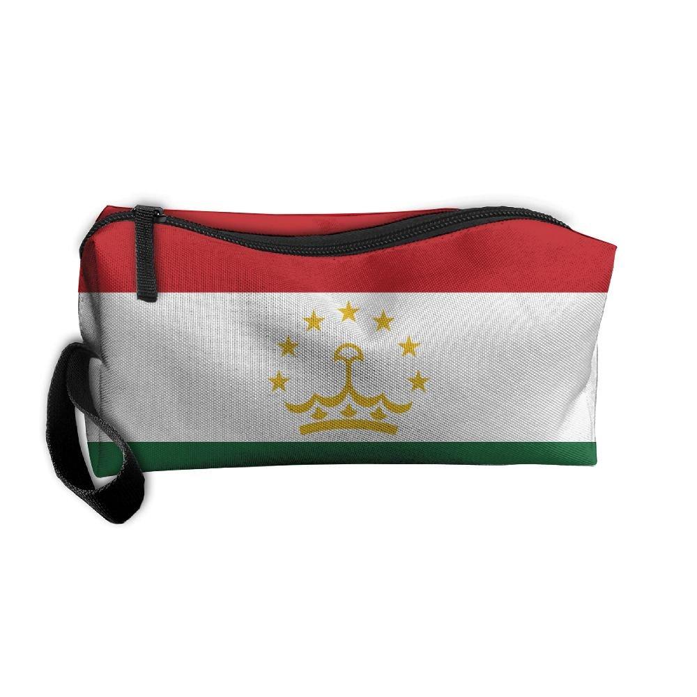 60%OFF Flag Of Tajikistan Pattern Makeup Bag Printing Girl Women ...