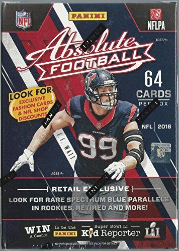 NFL 2016 Panini Absolute Football Blaster Box