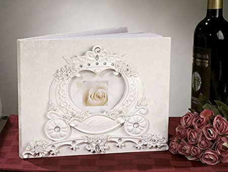 Fairytale Theme Wedding Guest Book Amazon Kitchen Home