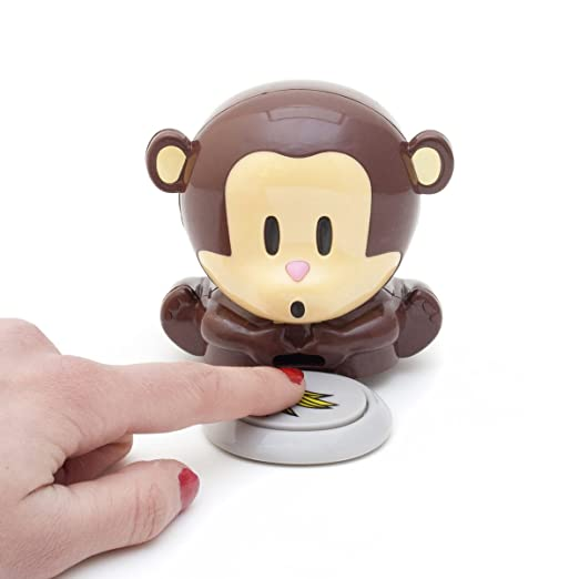 Cute Monkey Girls Manicure Pedicure Nail Polish Blower Dryer Nail Art Tips DIY