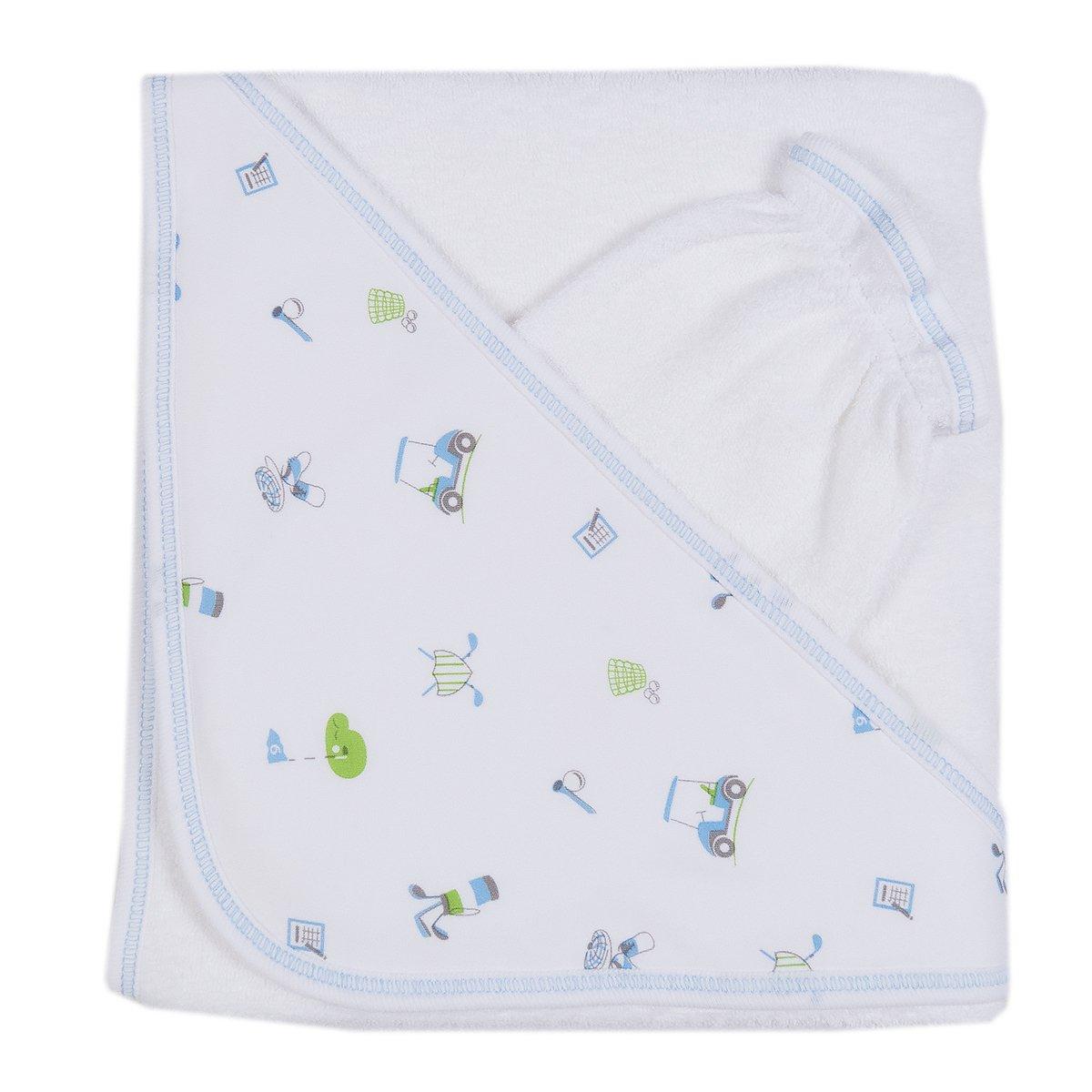 Kissy Kissy Baby-Boys Infant Daddy's Caddy Towel With Mitt S1849009-K191-1SIZE