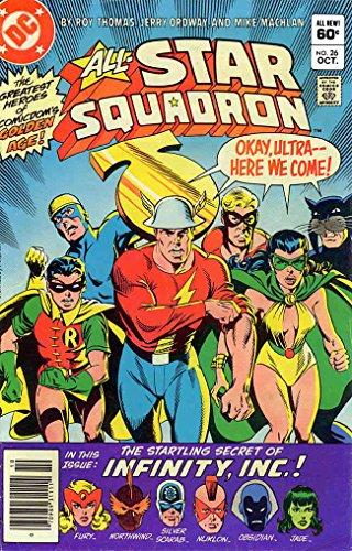 All-Star Squadron #26 VF/NM ; DC comic book - Obsidian Mist