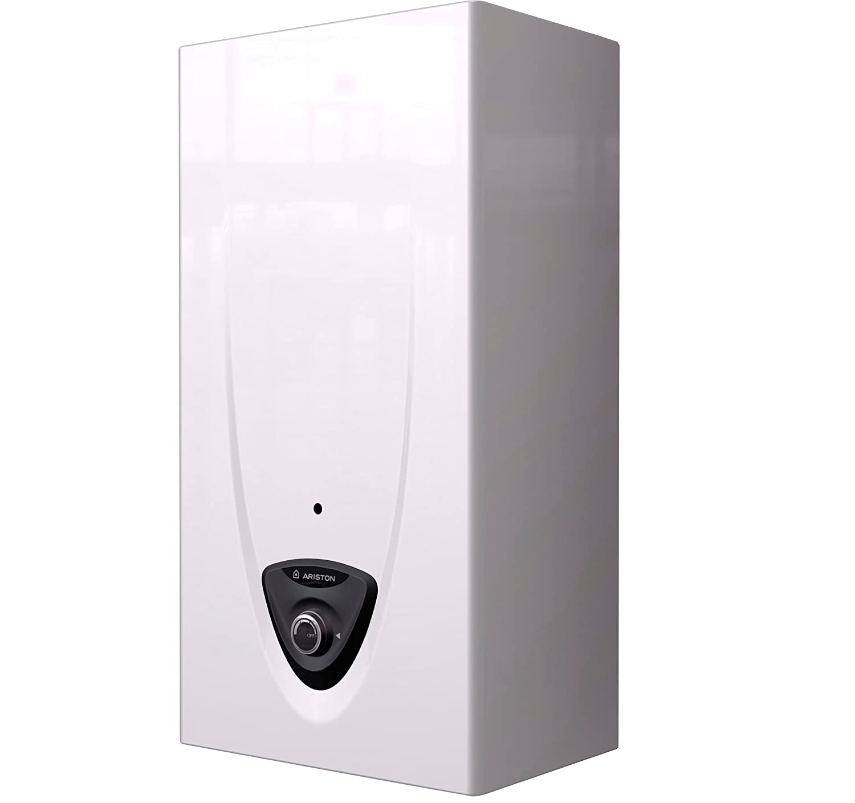 Calentador de agua automatico termo de gas butano Ariston 11lt Fast Evo B: Amazon.es: Electrónica