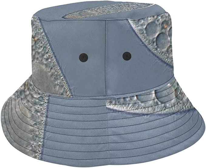 Life Origin Paramecium New Summer Unisex Cotton Fashion Fishing Sun Bucket Hats for Kid Teens Women and Men with Customize Top Packable Fisherman Cap for Outdoor Travel