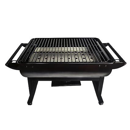 YONG@ Parrilla portátil al aire libre Barbacoa de carbón de leña del hogar del horno