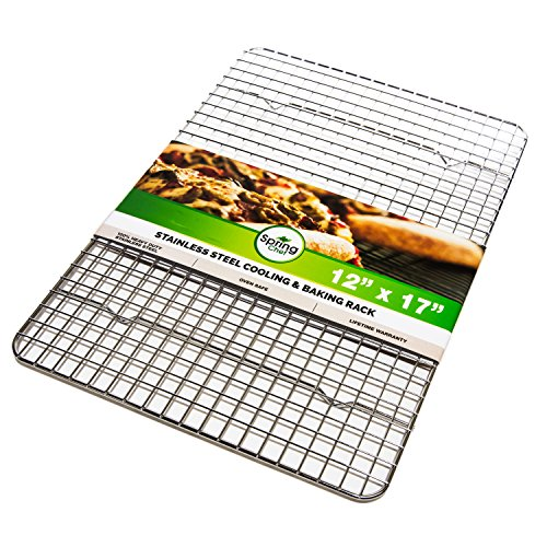 Cooling Rack, 12×17-Inch, Stainless Steel