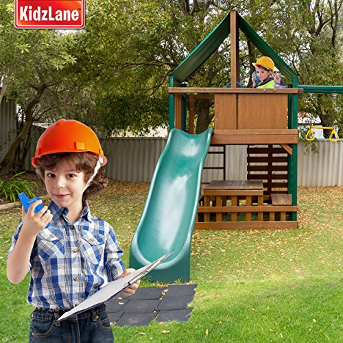 Kidzlane Durable Walkie Talkies, Easy To Use and Kids Friendly, 2 Mile Range, 3 Channel