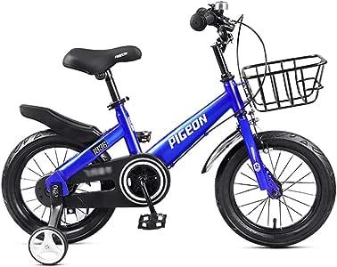 GAIQIN Durable Bicicleta para niños Bicicleta para niños 3-4-5-7-8 ...