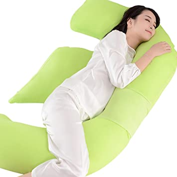 Amazon.com: syshion total del cuerpo contorno F almohada de ...